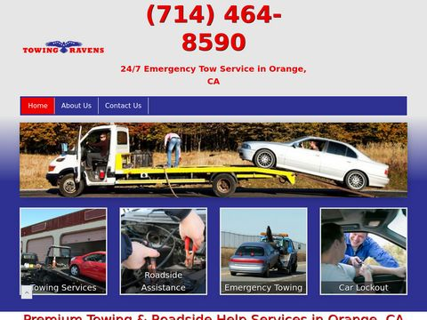 Professional Towing Services in Orange, CA - Towing Ravens