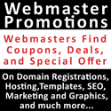 Webmasters Promotions