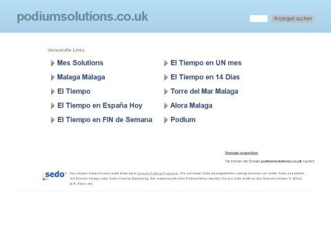 Podium Solutions - Web design manchester