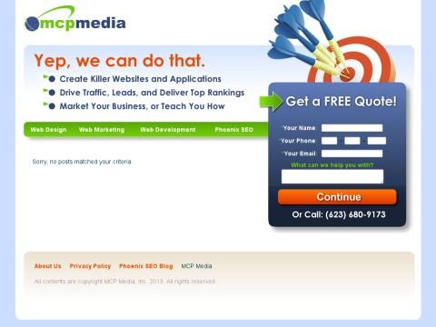 Phoenix Arizona Web Design