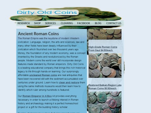 Dirty Old Coins
