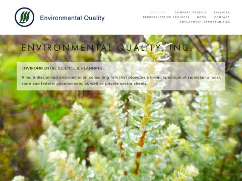 Environmental Quality, Inc.
