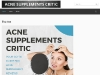 Reviews for Acne Vitamins, Pills, and Supplements