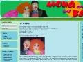 Clowns Mona and Babai
