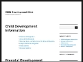 The Child Development Web