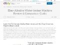 Ebay Alkaline Water Ionizer Comparisons Guide