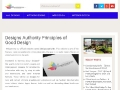 Designs Authority Principles of Good Design