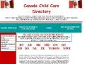 Canada Child Care Directory