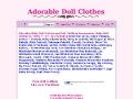 Adorable Doll Clothes