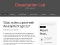 DissertationLab: Custom Dissertation