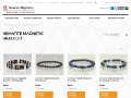 Superior Gemstone Magnetic Bracelets