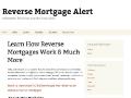 Reverse Mortgage Alert