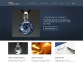 Handblown Glass Memorials by Psyche Cremation Jewelry