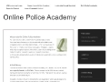 Online Police Academy