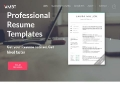 Professional Resume Templates and Cover Letter Templates