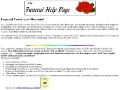 Funeral Help Page
