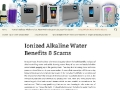 Water Ionizers: Alkaline Water Scams & Benefits