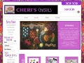 Cheris Crystals specialty is quilting