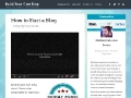 How to Start a Blog - Step by Step guide