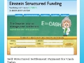 Einstein Structured Settlement Funding