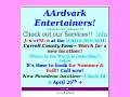 AArdvark Entertainers
