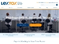 Lextox: Drug Testing