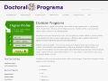 Doctoral Programs Org