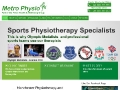 Metro Physio, Physiotherapy and Sports Injury