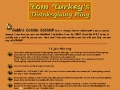 Tom Turkeys Thanksgiving Ring