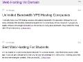 Web Hosting Vs Domain