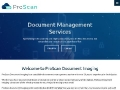 ProScan : Document Management Services | Affordable | Fast