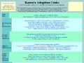 Karens Adoption Links