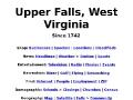 Upper Falls, West Virginia, USA