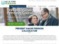 Value Your Pension: Present Value Pension Calculator