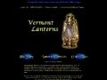 Vermont Brass Blackout Lanterns