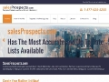 Sales Prospects: Mailing List