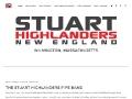 The Stuart Highland Pipe Band