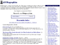 All Biographies Online Biographies