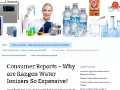 Consumers Report on Water Ionizers