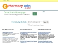 job board for recruiters, pharmacists