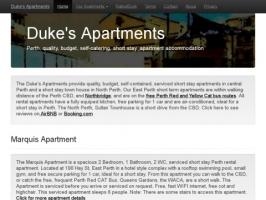 Dukes Apartments - Perth, Western Australia.