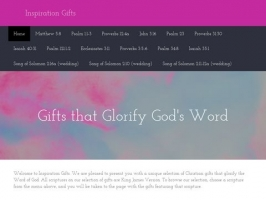 Inspiration Gifts - Gifts that Glorify Gods Word