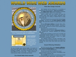 The World Wide Web Awards