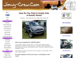 Suzuki Jimny As A Family Car