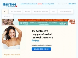 Permanent Hair Removal - Hairfree Australia
