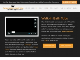 Perfect Walk-In Bath Tubs