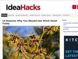 Idea Hacks - Natural Living Ideas