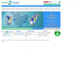 team2team, oracle web conferencing