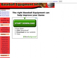 Information on Baseball Equipment