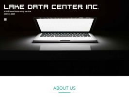 Data Entry Service- Lake Data Center, Inc